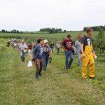3. Johnson Buffalo Ridge FD group walk 91 727x485