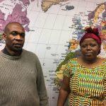 Innocent Kabahizi and Marie Kashindi