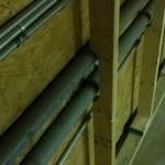 Joists around pipes cooler 410x727