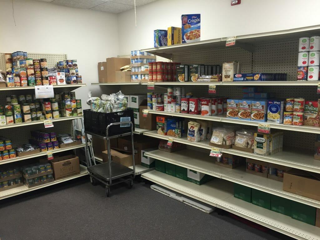Food pantry rural food access