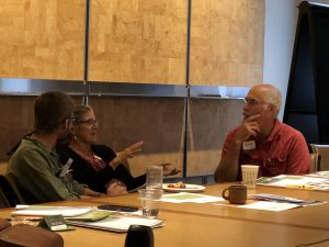 Landowners sharing goals and visions for their land with each other