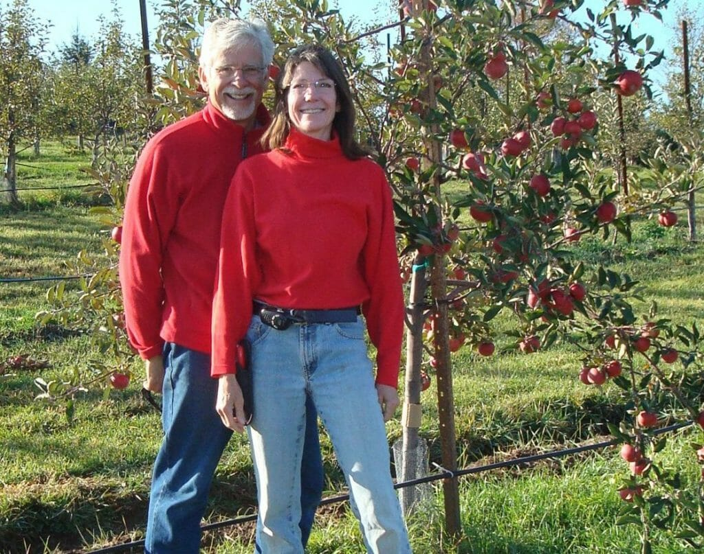 Deirdre Birmingham and John Biondi the Cider Farm Wisconsin
