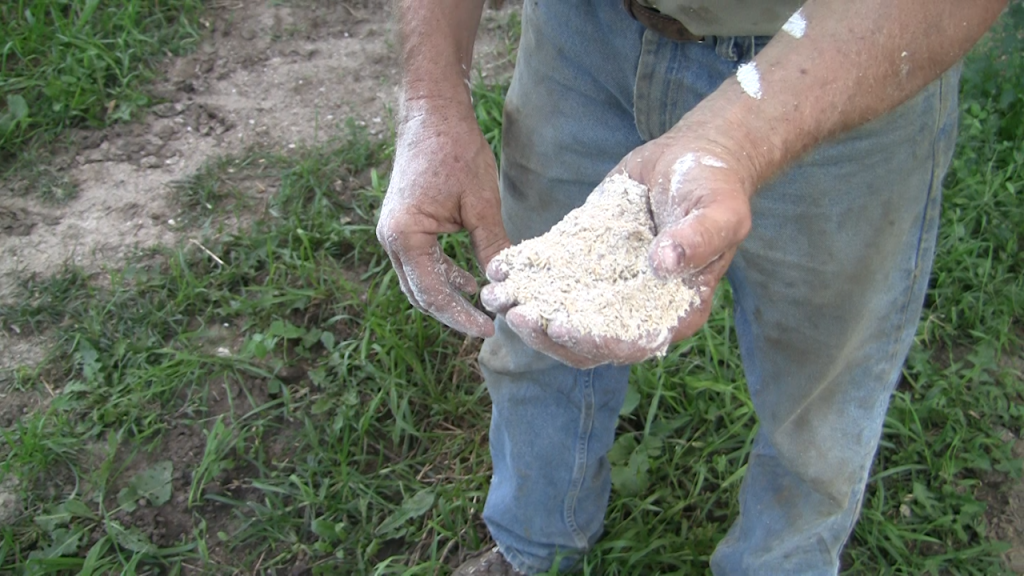 Grinding Small Grains For livestock feed