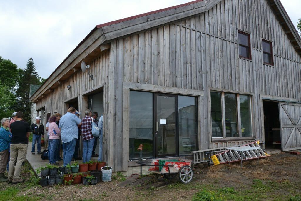packshed field day tour