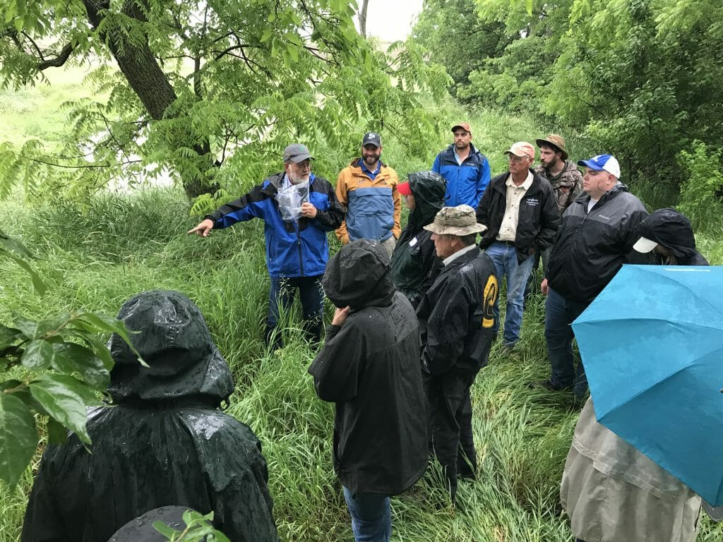 stop log control structure field day