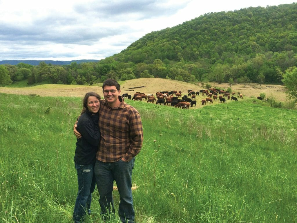 Kayla Koether and Landon Corlett aspire to custom graze cattle on marginal land