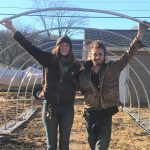 Carly McAndrews and Bryant Mann of Trowel and Error Farm