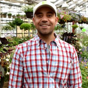 Mike Salama in Salama Greenhouse and Floral