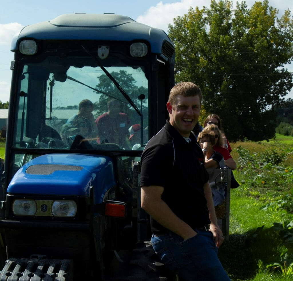 Chris Deal Orchard field day 2018