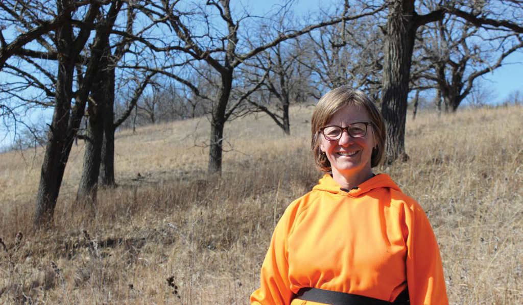 restoring native prairie on farmland