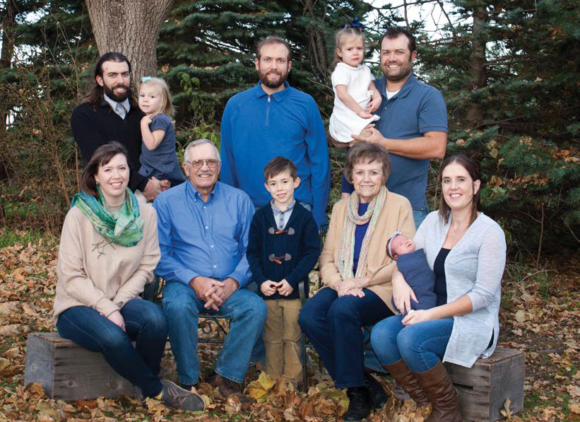 Ron Rosmann and family