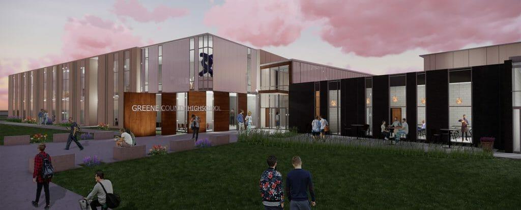 Prototype of greene county high school and career academy
