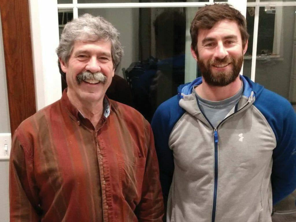 Rob Stout & stepson Alex