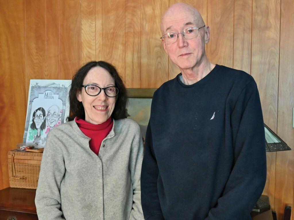 Sue Jarnigan and Rick Exner