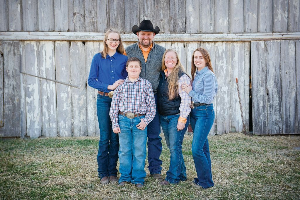 Shanen Ebersole and Family from their website
