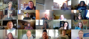 Summer 2020 Zoom staff meeting
