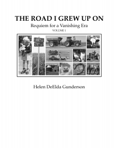 THE ROAD I GREW UP ON cover Vol 1