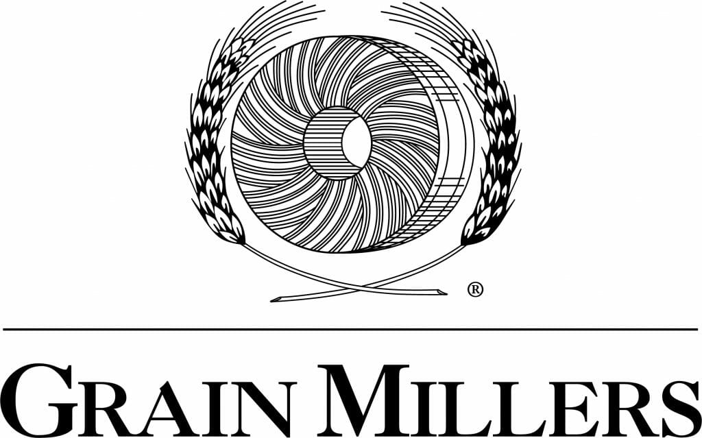 Grain millers black logo hires
