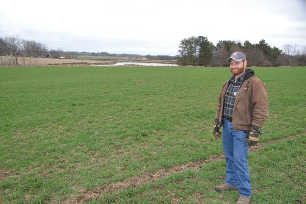Wade Dooley and cover crops