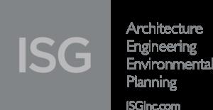 ISG gray logo block