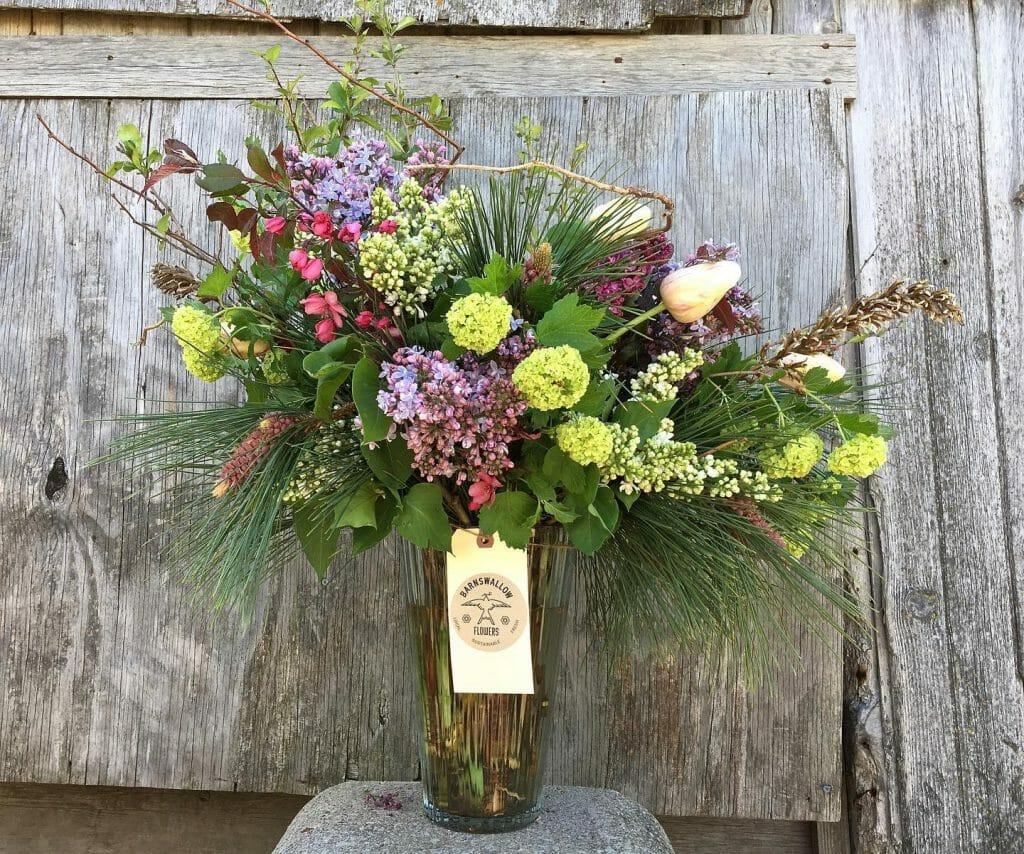 Barnswallow flower arrangement#2