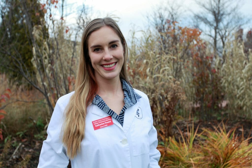 Catharine Found is a PFI member who is a third year veterinary student at Iowa State, and a Masters student at the University of Iowa College of Public Health