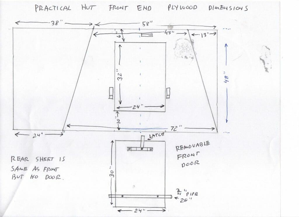 Hut design front end