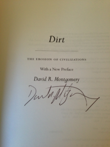 dirt book signed