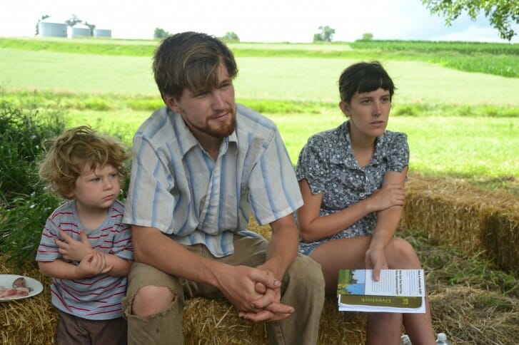 Families, food, and farming - hallmarks of any PFI field day!