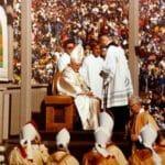 Pope John Paul II at Living History Farms