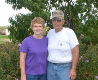Nancy and Paul Ackley
