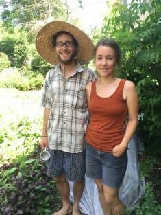Jon Yagla and Wren Almitra of The Millet Seed Farm