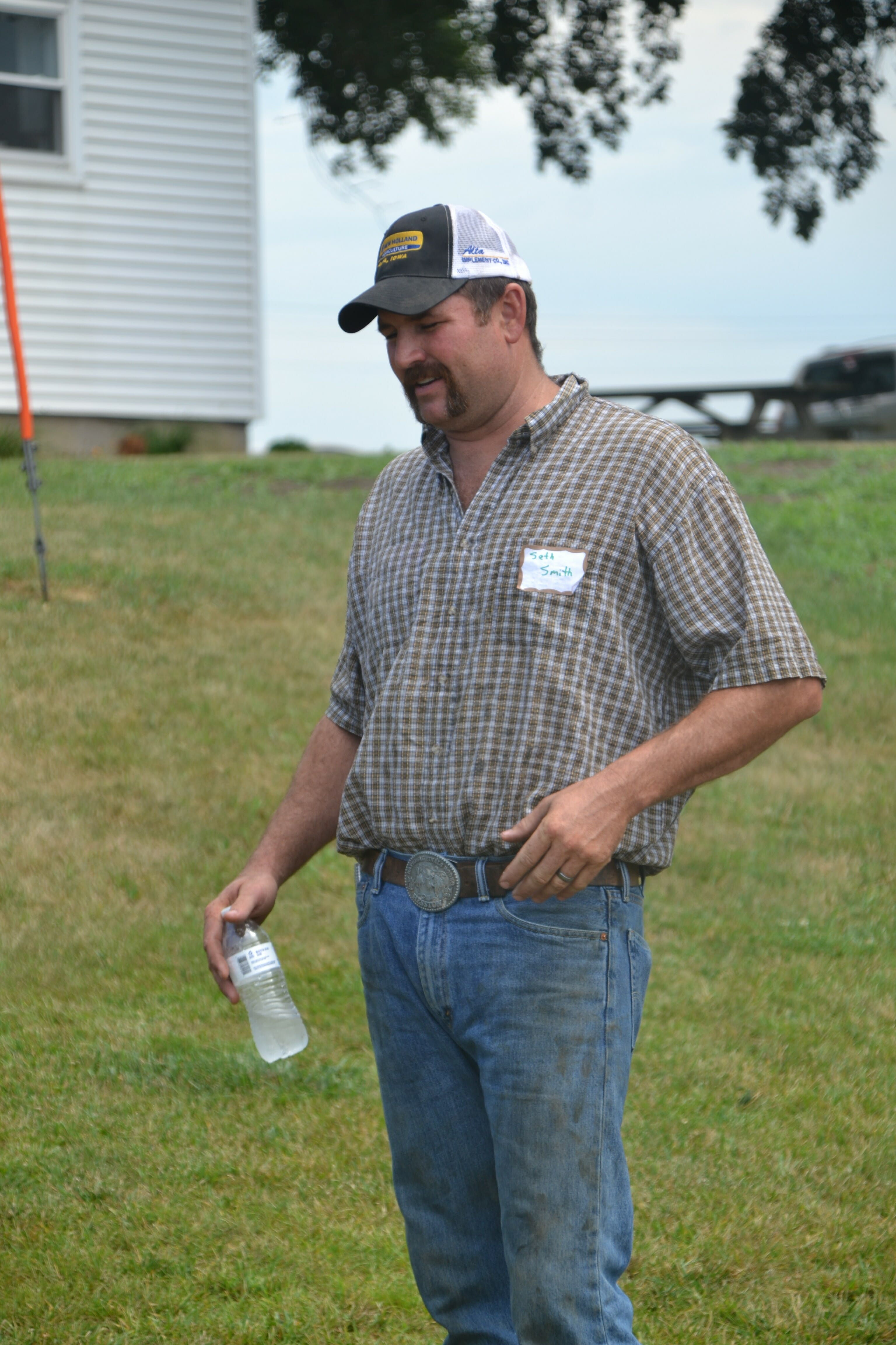 PFI member Seth Smith who farms near Nemaha.