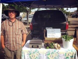 Tyson Allchin of Allchin Acres (photo courtesy of Muscatine Area Farmers Market)